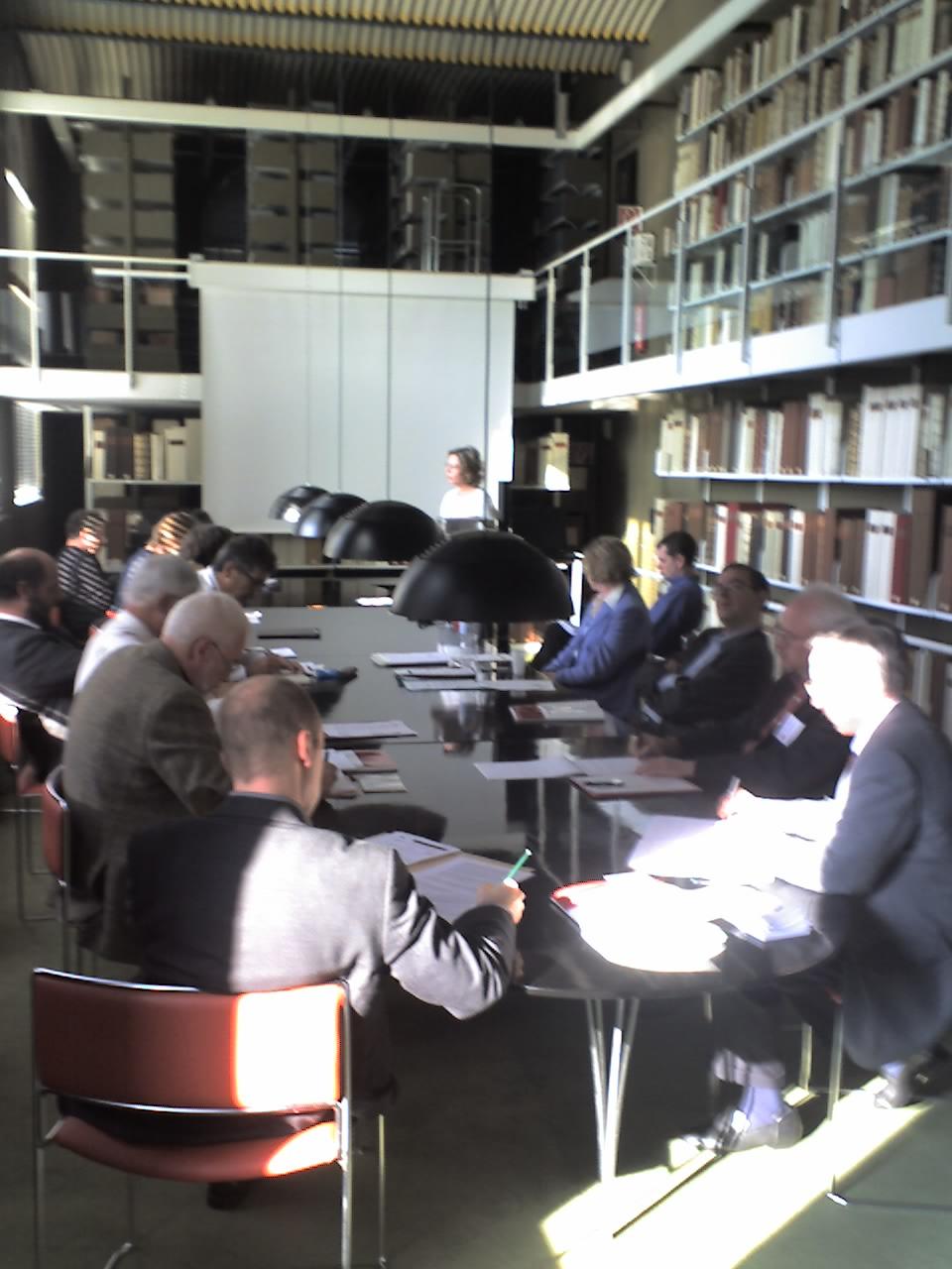 Abschlusspodium der Tagung