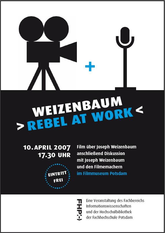 Weizenbaum Film Plakat