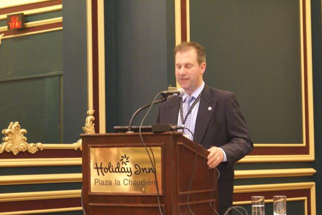 CBPQ-Konferenz- Vortrag Daniel Boivin