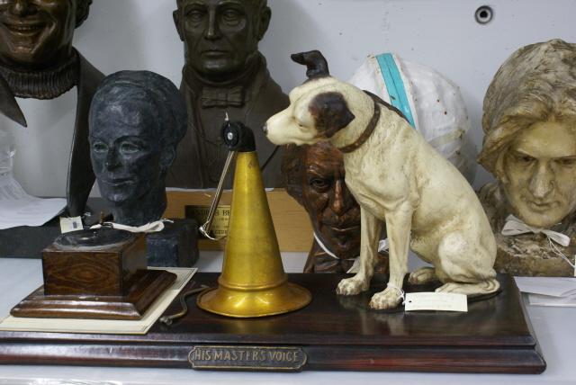 museale Sammlung im preservation centre der LAC in Gatineau