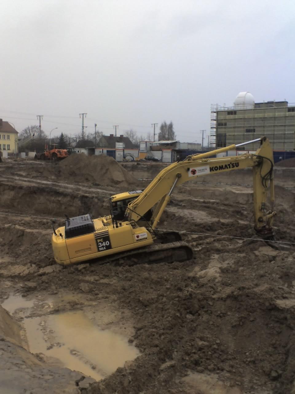 Start des Bauvorhabens IKMZ in Golm