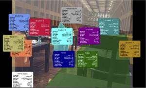 """Analyse der Konzentration bei der Informationsverarbeitung auf den """"Leseterrassen"""" des Grimmzentrums mit Hilfe von Eye-Tracking"""