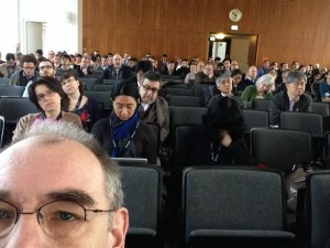 iConference 2014 in Berlin (Opening Session in Audimax of Humboldt University)