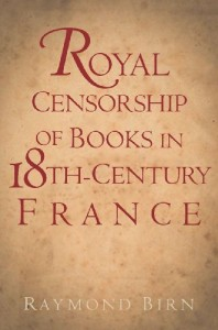 Birn 2012 - Royal censorship of books