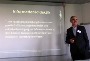 Hobohm talking at ZPID-Tagung-2014