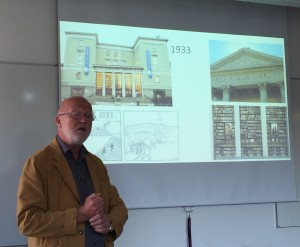 Ragnar Audunsons welcome lecture on Olso as a library city