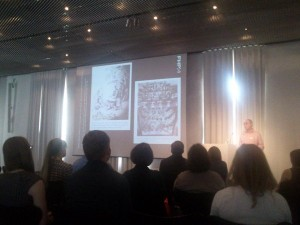 Vortrag auf dem Sympsoium 10 Jahre Libreas (Photo: @kartens)